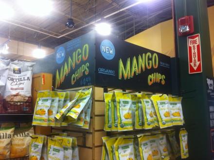 Mango Chips Chalkboard Header