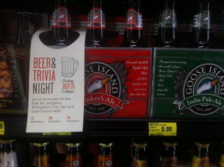 Beer&Trivia Beer Tag