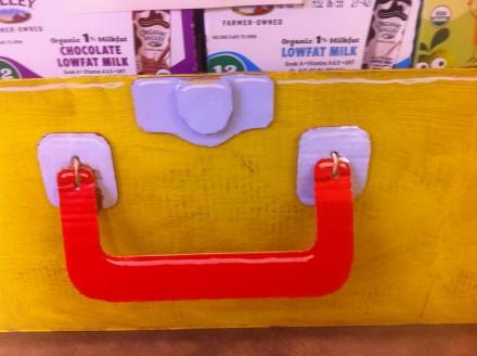 TDS Cardboard Lunch Box