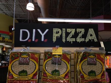 Pizza Chalkboard Header