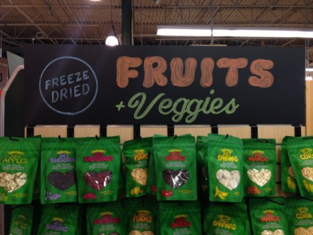 Fruits & Veggies Chalkboard Header