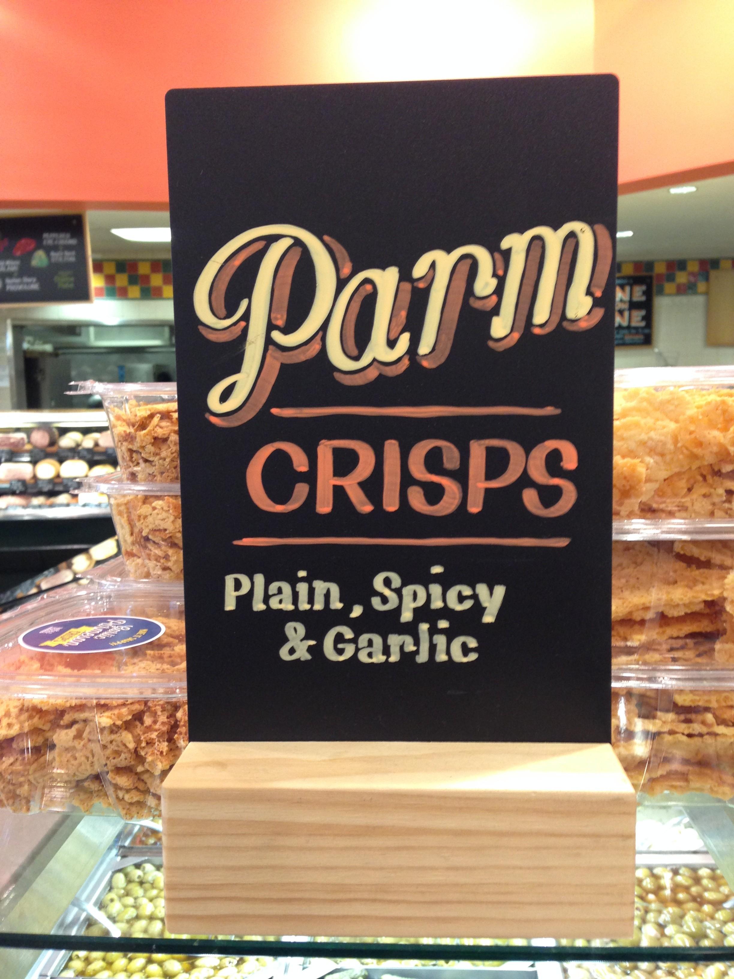 Whole Foods Parm Crisps