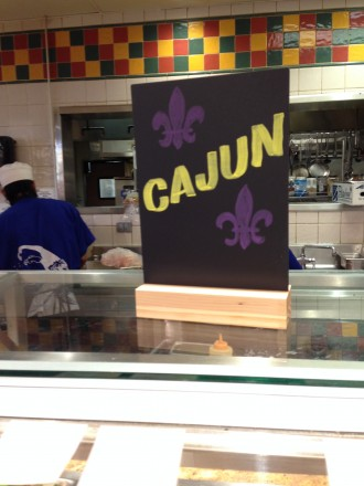 Cajun Food Chalk
