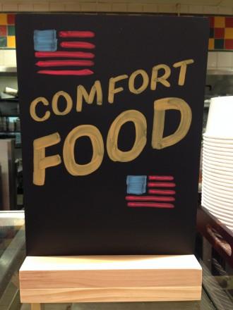 Comfort Food Chalk